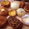 鎌倉ベーカリー - 料理写真:リンゴタルト 明太ポテト クリームチーズパン フライドチキンパン エッグタルトなどなど
