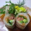 食遊房田 - 料理写真:特製生春巻きサラダ