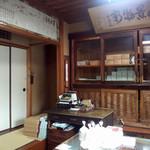 松屋藤兵衛 - 趣のある小さな店内