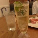 ターブル ド ペール - レモンとミントのハイボール