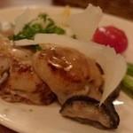 ターブル ド ペール - 牡蠣と季節野菜のソテー