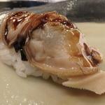 第三春美鮨 - 煮蛤 桁曳き網漁 三重県桑名 卵のない蛤もおいしい