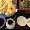 そば処 日本ばし - 料理写真:天せいろ、1250円です。