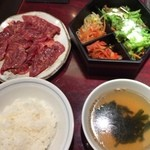 焼肉 清香苑 - ハラミランチ