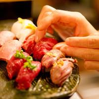 【厳選肉】こだわりの肉寿司