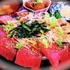 まつき - 料理写真:海鮮はみ出しお造り丼+飲み放題コース