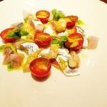 cucina Wada - 新さんまのカルパッチョ