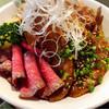 菜館 - 料理写真:ガッツリお肉の味くらべ丼