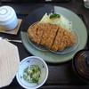 満点とんかつ四季彩 - 料理写真:<2015/08/27>ロースかつ定食(ジャンボ)