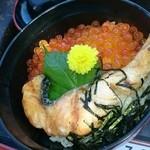 合正ガーデン - イクラと鮭の丼