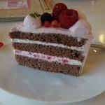 カフェ プラド - ホワイトチョコ生ケーキ