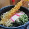 田吾作うどん - 料理写真:天ぷらうどん610円 うどん茹でたて 天ぷら揚げたて