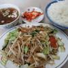 東龍 - 料理写真:野菜炒め定食 780円