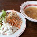 Toranomon HOP - サラダとスープ