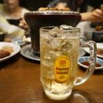 三林精肉店 - ハイボール