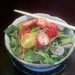 てらじま亭 - お通しのサラダ