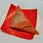 グランドプリンスホテル京都 中国料理 桃園 - カレー風味の『サモサ』!パリパリっと揚がっていて旨~い♪(^o^)丿