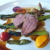 貝殻亭 - 料理写真:岩手県産無菌豚のロティ 赤ワインソース