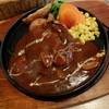 """洋食屋 せんごく - 料理写真:""""煮込みハンバーグ"""""""