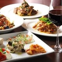 本格イタリア料理を気軽なバールスタイルで!!