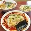 正月屋 - 料理写真:コク辛そば、支那そば、伊達鶏トロ丼