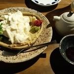 游心 - ざる豆腐☆ 500円