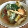 ひなたうどん - 料理写真:野菜天うどん500円