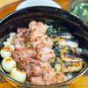 新橋 鶏繁 どんぶり子 - 料理写真:炭焼 焼き鳥丼【2015年8月】