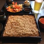 海鮮和彩 はなぜん - 蕎麦といくら丼