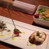 橙 - 料理写真:料理長コースA  1780円  の前菜とサラダ