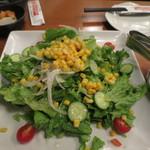 AJITO - とうもろこしと夏野菜のサラダ