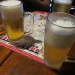 観悟雲 - ピッチャービールで乾杯