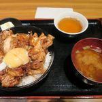 とりしん - きじ丼_2015/08