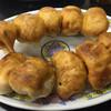 ホワイト餃子 - 料理写真:焼餃子10個¥450
