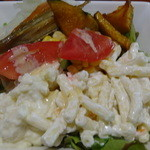 41350482 - マカロニサラダ、野菜サラダ、野菜の煮物