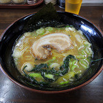 麺王 - 2015年8月16日(日) 京風(煮干)ラーメン(並)780円