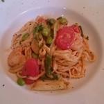 レストラン Ari - タリオリーニ  エビと野菜のクリーム
