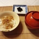 はり清 - 食事('15.08)