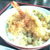 ゆうなぎ - 料理写真:天丼、ふ、普通かな