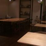 ワイエスシー スペースアンドカフェ ヨコハマ - ゆったりした店内