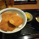 和食 うどんや - タレヒレカツ丼