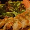 グロウズ - 料理写真:和豚もちぶた 肩ロースステーキの溶岩焼 ジンジャーソース