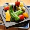 一瞬 - 料理写真:新鮮な旬の野菜を富士山の溶岩プレートで焼き上げる『名物溶岩焼(旬野菜)』