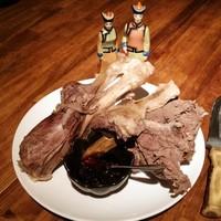 【 チャンサンマハ 】 骨付き羊肉のモンゴル岩塩ゆで