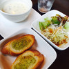一刻 - 料理写真:一刻ランチ  本日のスープとサラダとパン