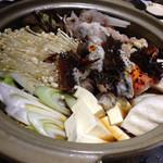 魚のあんよ - 花咲蟹なべ