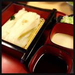 稲にわうどん 割烹 日本橋 古都里 - 稲庭うどん