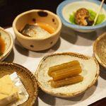 Shuhai - 料理写真:お通し6種