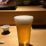すし天 - きんきん生ビール