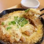 まるかつ - チーズカツ定食